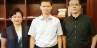 管理学院尤建新一行拜访上海市副市长许昆林并汇报工作 - 上海大学