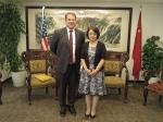 尚玉英会见美国驻上海总领事 - 上海商务之窗