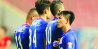 瓜林复出,申花终于拿分了。   /Osports - 新浪上海