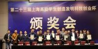 """我校在第二十三届上海高校学生创造发明""""科创杯""""中喜获佳绩 - 华东理工大学"""