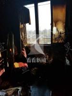 虹口一小区发生火灾 88岁老伯不幸身亡 - 新浪上海