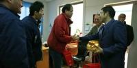 校领导看望慰问一线工作人员并送上新春祝福 - 上海财经大学
