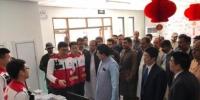 巴基斯坦代总统桑吉拉尼率团慰问中国红十字会援瓜达尔医疗队 - 复旦大学