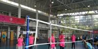 我校荣获上海教育系统首届教工气排球比赛季军 - 上海电力学院