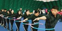拓展活动现场 - 上海海事大学