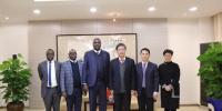 党委书记朱民会见肯尼亚教育高访团 - 东华大学