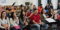 我校与美国爱荷华州立大学举行音乐交流会 - 上海海事大学