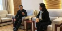 上海市教委老干部处来校实地调研离退休老干部工作 - 东华大学