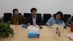 马克思主义学院推进书记谈心系列活动 - 上海财经大学
