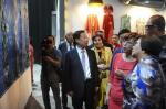 服装与艺术设计学院教师作品应邀赴吉尔吉斯斯坦参展 - 东华大学