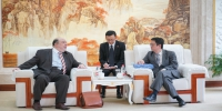 埃及驻沪总领事到访上海外国语大学 - 上海外国语大学