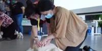 红十字应急救护培训为徐家汇商圈保驾护航 - 红十字会